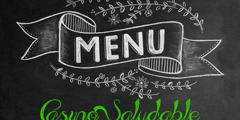 MENÚ – Casino saludable