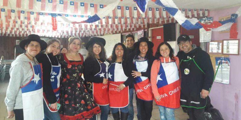 Celebración Fiestas Patrias en el Comedor Fraterno